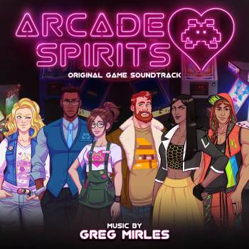 Arcade Spirits original game soundtrack cover art