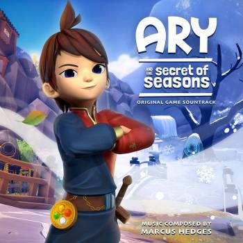 Ary and the Secret of Seasons original game soundtrack cover art
