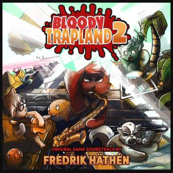 Bloody Trapland 2 original game soundtrack cover art