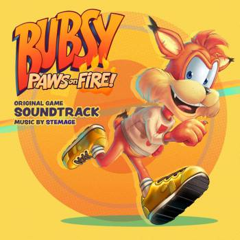Bubsy: Paws on Fire! original game soundtrack cover art