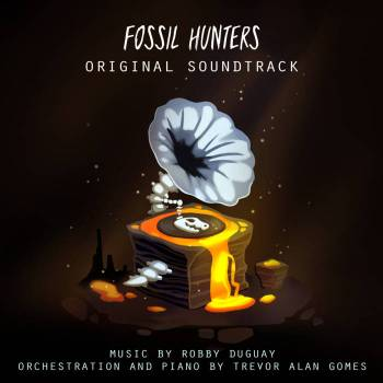 Fossil Hunters original game soundtrack cover art