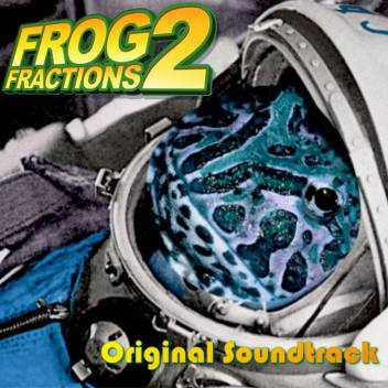 Frog Fractions 2 original game soundtrack cover art