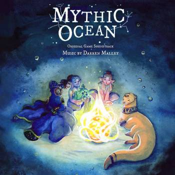 Mythic Ocean original game soundtrack cover art