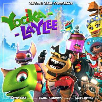 Yooka-Laylee original game soundtrack cover art